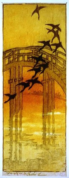 Bertha Lum, Swallows - hip tattoo