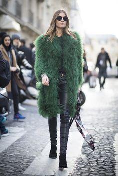 Street Style Paris Fashion Week Februar/März 2016   POPSUGAR Deutschland Mode   Pinterest: Life is about