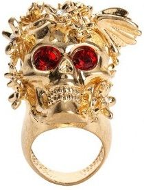 ring gold Mcqueen