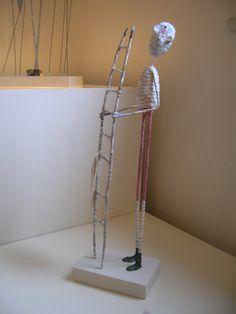 Paper Mache Figure by Jane Strawbridge