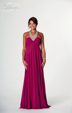 """""""Zoe"""" by Tiffany prom, mulberry prom dress, available at Bridal Oasis, Goole. Prom 2017."""
