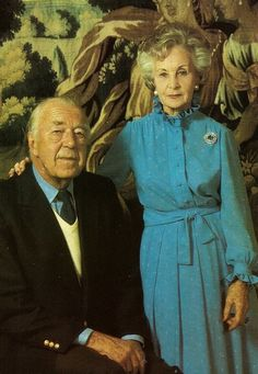 Prince Bertil of Sweden and Spouse, princess Lillian, the duke and duchess of Halland. C. late 70s.
