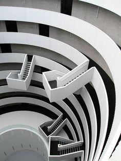 Staircase, the silo :: copenhagen