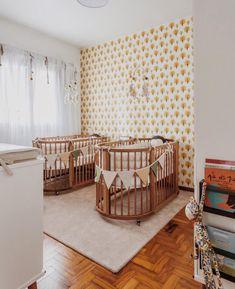 Nursery Twins, Nursery Room, Kids Bedroom, Nursery Decor, Baby Room Design, Nursery Design, Twin Baby Rooms, Room Baby, Baby Room Neutral