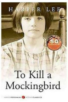 TO KILL A MOCKINGBIRD is about the crisis of human behavior and conscience arising from the racism and prejudice that exist in the small Southern town during the Depression.  #ad #classicliterature #readinglist #highschoolreadinglist #celebratetheeveryday