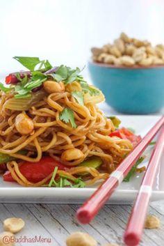 Kung Pao Tofu Noodles