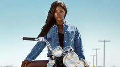 Model Deddeh Howard sends diversity message by recreating famous photo shoots
