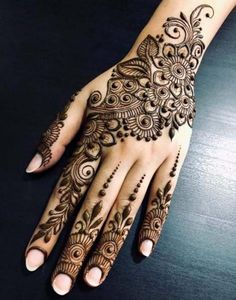 Henna Tattoo Designs Images - 100 Wedding Henna Designs on Hand for Brides. this is the best henna tattoo images collection with various pattern Dulhan Mehndi Designs, New Bridal Mehndi Designs, Mehndi Designs For Girls, Mehndi Designs 2018, Mehndi Design Pictures, Modern Mehndi Designs, Mehndi Designs For Beginners, Mehandi Designs, Rangoli Designs