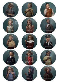 """The Beauty of an Ugly Addiction"" - Frieke Janssens' smoking kids"