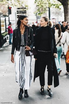PARIS FASHION WEEK STREET STYLE No. 1 | Vintage Collage | bloglovin '
