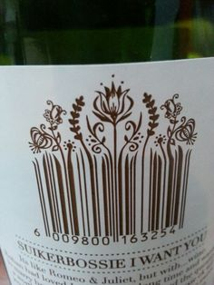 Clever use of a barcode - and what a great name!