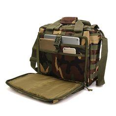 Outdoor Sport Laptop Camera Mochila Men Messenger Bag Travel Tactical  Multifunction Bag Laptop Messenger Bags 1691b28578a28