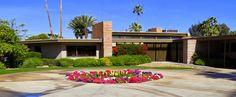 Twin Palms (Frank Sinatra House), Palm Springs, 1947.  Architect: E. Stewart Williams.