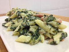 Macarrones con espinacas en Recetario de cocina no te lo puedes perder!! Pincha en este enlace o en la foto para ver la publicación completa ahora!!