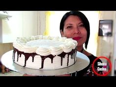 PASTEL 3 LECHES / SIN HORNO!!! /PASO A PASO / Silvana Cocina ❤ - YouTube Chilean Recipes, Natural Yogurt, Puerto Rican Recipes, Love Cake, Cheesecake, Oven, Birthday Cake, Vegetarian, Chocolate