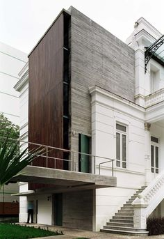 remain simple.  New meets old architecture.