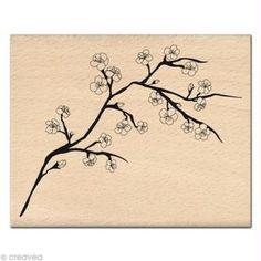 Tampon Nature - Branche de Cerisier