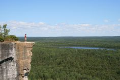 Manitoulin Island is the largest freshwater island in the world.     Located along the waters of Georgian Bay and Lake Huron, in Ontario