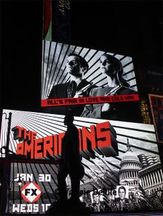 The americains Times square