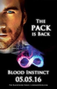 Blood Instinct > Blackthorn Series Book 6 > Lindsay J. Pryor > DARK Paranormal Romance > Vampires > Brit PNR > Amazon Bestseller