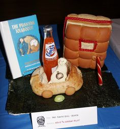 The Fanta Roll-booth by Seattle Edible Book Festival - Eat a Book Today!, via Flickr