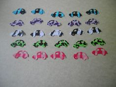 50 Animla print Cars by ang744 on Etsy, $2.00