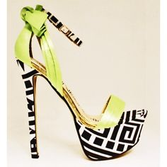 Paris RKG Neon Green Shoes ($44.99) - bdonnas.com