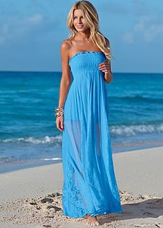 Lace detail maxi dress -- they cancelled my order! Discontinued. Ugh. Must find this for resale.