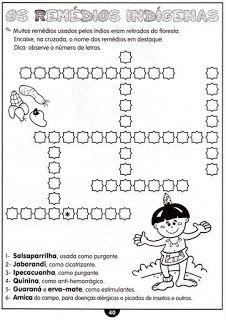 Atividades Historia Do Brasil 3 4 5 Anos Bau De Atividades