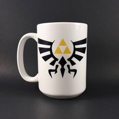 Triforce Coffee Mug  Legend Of Zelda