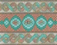 Lizart: Bargello Crackers 1 2, charted needlepoint