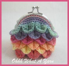 1000+ images about ? Crochet Coin Purses ? on Pinterest Crochet ...