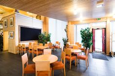 Sella, Jurva, Kurikka, Finland, cafe, wood architecture, public space, public interior