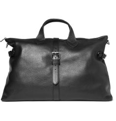 Mulberry - Albert Leather Holdall Bag (for men! My Bags, Purses And Bags, Leather Bag, Black Leather, Sac Week End, Summer Bags, Beautiful Bags, Weekender, Fashion Bags