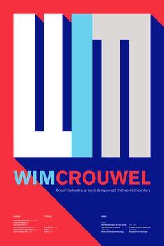 Wim Crouwel on Behance