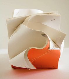 -kristina e. king, bookbinding sculpture