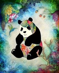 Oh my god! When I saw this I just had to pin and save this to my phone cause I love pandas and I love drawing!