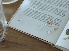 -Dew- long pierce/earring