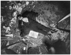 New York City crime scene, 1914-1918