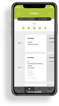 Lindenhof - Das Jugendparadies | MOREMEDIA® Interface Design, Der Bus, User Experience Design, App Design, Advertising Agency, Renting, User Interface Design, Application Design