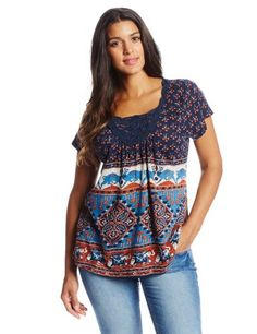 Lucky Brand Women`s Plus-Size Elephan... for only $59.50