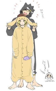 Haikyuu Meme, Haikyuu Ships, Haikyuu Fanart, Anime Ai, Fanarts Anime, Anime Chibi, Cute Anime Guys, Cute Anime Couples, Hinata