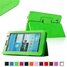 finding for Fintie (Green) Slim Fit Folio Case Cover for Samsung Galaxy Tab 7.0 Plus / Samsung Galaxy Tab 2 7.0 Tablet-Multiple Color Options