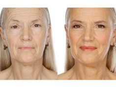 """Makeup tutorial for more mature women -one way of saying """"here's how to look less like an old hag and hope you won't be automatically be offered the senior citizen's discount at Publix""""!"""
