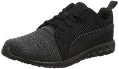 Puma Carson Runner Camo Knit – Chaussures de Course – Mixte Adulte – Noir (Black/Grey 05) – 43 EU (9 UK): Tweet