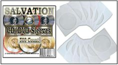 CD Paper Sleeves,CD Sleeves,GOD MADE CD,SALVATION  #CDPaperSleevesCDSleevesGODMADECDSALVATION