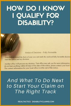 How Do I Know I Qualify To File A Disability Claim? How do I know I qualify to file a Social Security disability claim and how do I know when and if it's time to quit and more importantly if I should quit? Types Of Disability, Disability Insurance, Life Insurance, Chronic Migraines, Rheumatoid Arthritis, Chronic Illness, Veterans Benefits, Insurance Marketing, Social Security Benefits
