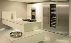 Halcyon Interiors The ALNO Store: The Alno Store show New Gaggenau Combi Microwave Microwave, Interior, Alno, Store, Lighted Bathroom Mirror, Home Decor, Bathroom Mirror, Gaggenau, Mirror