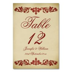 Vintage Leaf Scroll Wedding Table Number Table Card We have the best promotion for you and if you are interested in the related item or need more information reviews from the x customer who are own of them before please follow the link to see fully reviewsDiscount Deals          Vint...