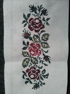 Deep Forest, Cross Stitch Designs, Embroidery Stitches, Facebook, Rose, Crochet, Flowers, Hip Bones, Herb